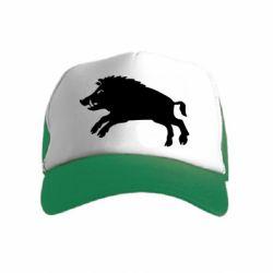 Дитяча кепка-тракер Wild boar
