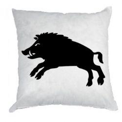 Подушка Wild boar