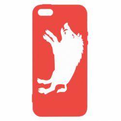 Чохол для iphone 5/5S/SE Wild boar