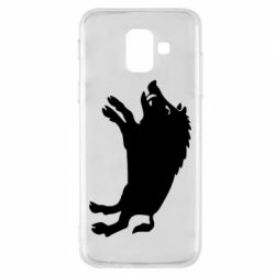Чохол для Samsung A6 2018 Wild boar
