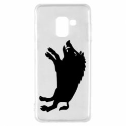Чохол для Samsung A8 2018 Wild boar