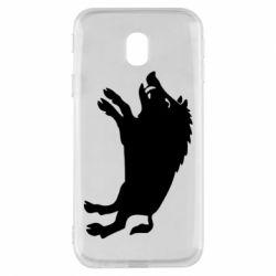Чохол для Samsung J3 2017 Wild boar