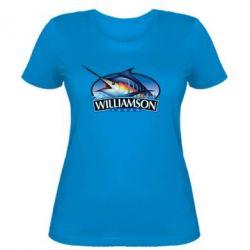 Женская футболка Williamson - FatLine