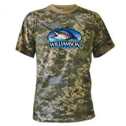 Камуфляжная футболка Williamson - FatLine