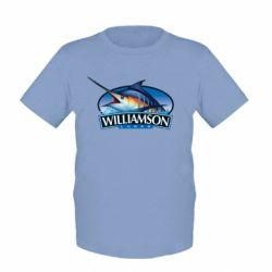 Детская футболка Williamson - FatLine
