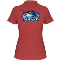 Женская футболка поло Williamson - FatLine
