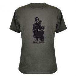 Камуфляжная футболка Winchester Bros - FatLine