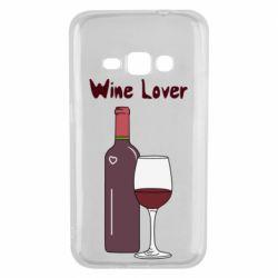 Чохол для Samsung J1 2016 Wine lover