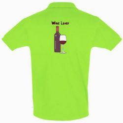 Футболка Поло Wine lover