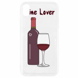 Чохол для iPhone XR Wine lover