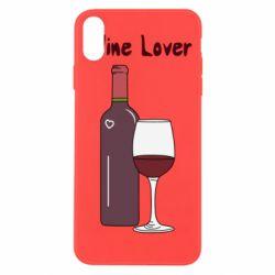 Чохол для iPhone Xs Max Wine lover