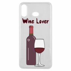 Чохол для Samsung A6s Wine lover