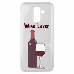 Чохол для Samsung J8 2018 Wine lover