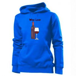 Толстовка жіноча Wine lover