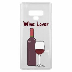 Чохол для Samsung Note 9 Wine lover