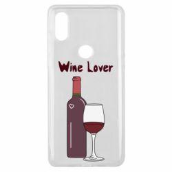 Чохол для Xiaomi Mi Mix 3 Wine lover