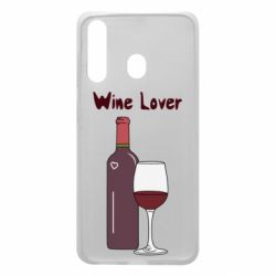 Чохол для Samsung A60 Wine lover