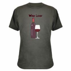 Камуфляжна футболка Wine lover