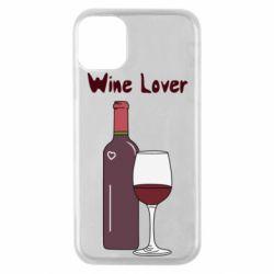 Чохол для iPhone 11 Pro Wine lover