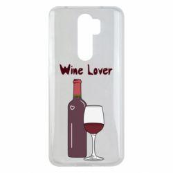 Чехол для Xiaomi Redmi Note 8 Pro Wine lover