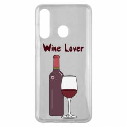 Чохол для Samsung M40 Wine lover