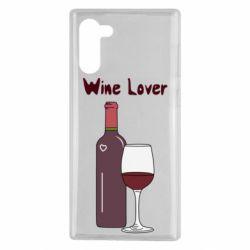 Чохол для Samsung Note 10 Wine lover