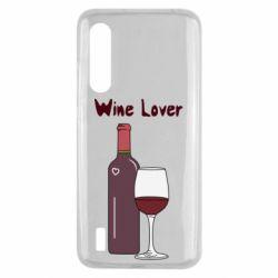 Чохол для Xiaomi Mi9 Lite Wine lover