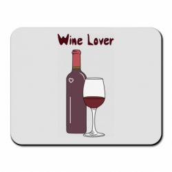 Килимок для миші Wine lover