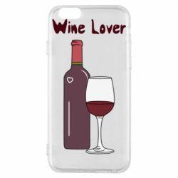 Чохол для iPhone 6/6S Wine lover