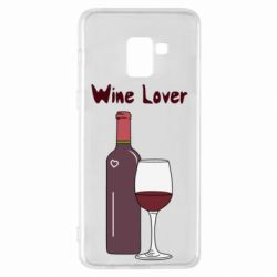 Чохол для Samsung A8+ 2018 Wine lover