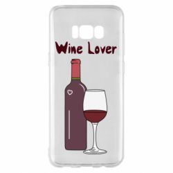 Чохол для Samsung S8+ Wine lover