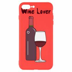 Чохол для iPhone 8 Plus Wine lover