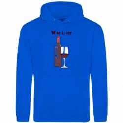 Чоловіча толстовка Wine lover