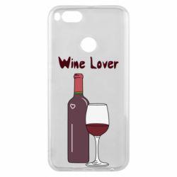 Чохол для Xiaomi Mi A1 Wine lover