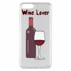 Чохол для Xiaomi Mi Note 3 Wine lover