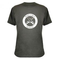 Камуфляжная футболка Wing Chun kung fu - FatLine