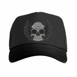Кепка-тракер Winged Skull - FatLine