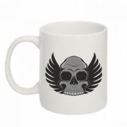 Кружка 320ml Winged Skull - FatLine