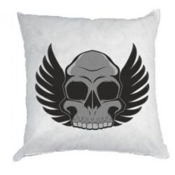 Подушка Winged Skull - FatLine