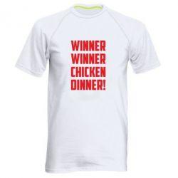 Купить Мужская спортивная футболка Winner winner chicken dinner!, FatLine