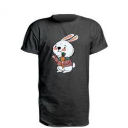 Подовжена футболка Winter bunny