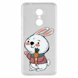 Чехол для Xiaomi Redmi 5 Winter bunny