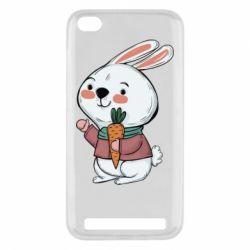 Чехол для Xiaomi Redmi 5a Winter bunny