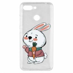 Чехол для Xiaomi Redmi 6 Winter bunny