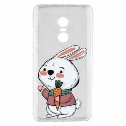 Чехол для Xiaomi Redmi Note 4 Winter bunny