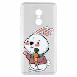 Чехол для Xiaomi Redmi Note 4x Winter bunny