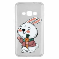 Чохол для Samsung J1 2016 Winter bunny
