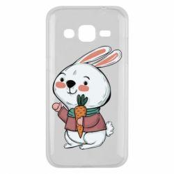 Чохол для Samsung J2 2015 Winter bunny