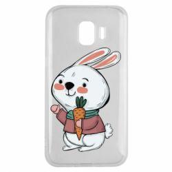 Чохол для Samsung J2 2018 Winter bunny