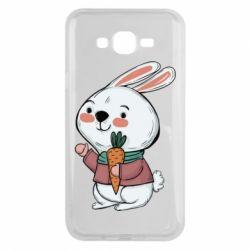 Чохол для Samsung J7 2015 Winter bunny